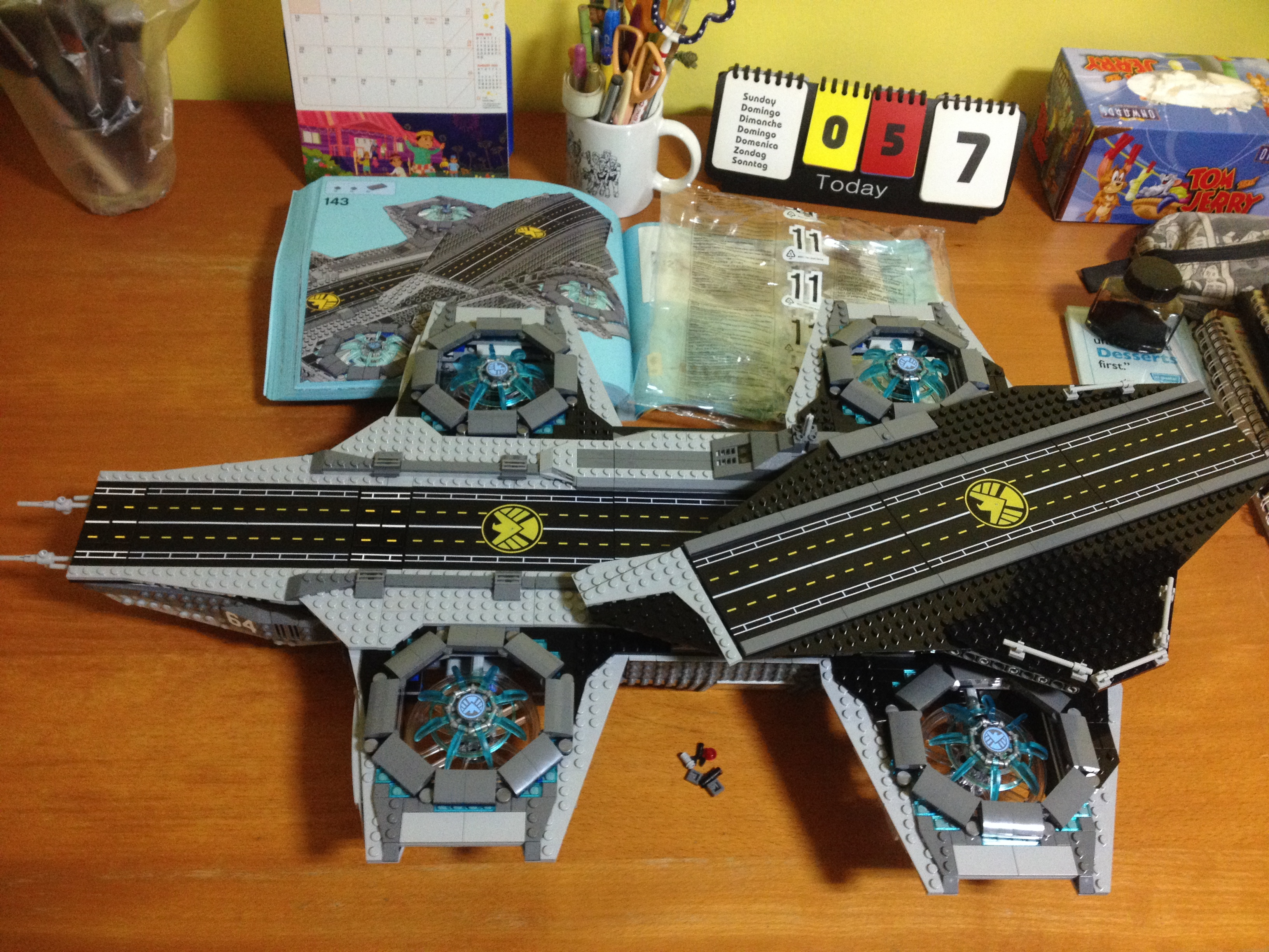 building my lego shield helicarrier the regular moviegoer